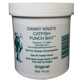 Danny King Catfish Punch Bait Catfish Dough 14 oz - Original