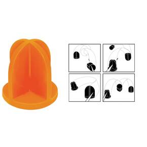 "Do-All Outdoors Impact Seal Ground Bouncing Targets 5"" Top Hat"