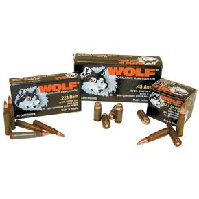 Wolf WPA Polyformance Rifle Ammunition .223 Rem 55 gr HP 3241 fps - 20/box