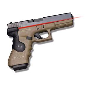 Crimson Trace Semi-Automatic Lasergrip - for Glock .17L/.22/.24/.31/.34/.35/.37 Rear Activation