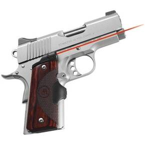 Crimson Trace Master Series Lasergrip - 1911 Officer/Defender/Compact - Rosewood