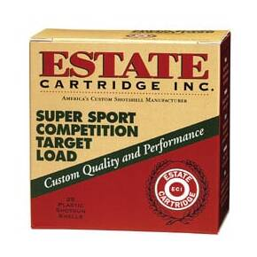 "Estate Cartridge Super Sport 12 ga 2 3/4""  1 oz #9 1290 fps - 25/box"