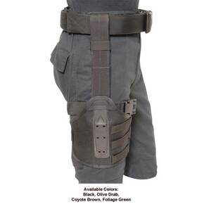 Eagle Tactical Drop Rig with Belt Loop RH Coyote Brown