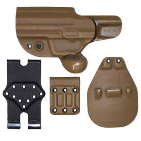 Gcode Combo Holster for H&K USP 45 Belt Loop and Paddle with Claw Left Hand Coyote Tan