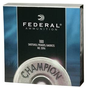 Federal Premium Champion 209A Shotshell Primers