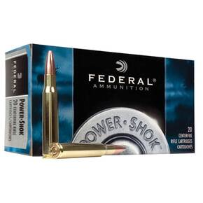 Federal Power-Shok Rifle Ammunition .30-06 Sprg 125 gr SP 3140 fps - 20/box