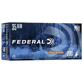 Federal Power-Shok Rifle Ammunition .35 Rem 200 gr RNSP 2080 fps - 20/box