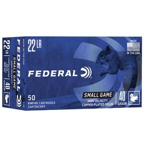 Federal Game-Shok Rimfire Ammunition .22 LR 40 gr CPS 50/box