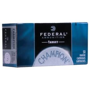 Federal Champion Rimfire Ammunition .22 WMR 40 gr FMJ 50/box