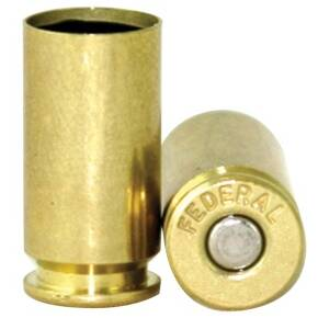 Federal Premium Primed Brass Handgun Cartridges 100/ct 9mm Luger