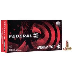 American Eagle Handgun Ammunition .25 ACP 50 gr FMJ 760 fps 50/box