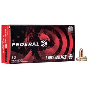 American Eagle Handgun Ammunition .32 ACP 71 gr FMJ 900 fps 50/box