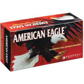 American Eagle Handgun Ammunition .45 GAP 185 gr FMJ 1090 fps 50/ct