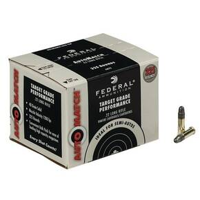 Federal AutoMatch .22 LR 40 gr SLD Rimfire Ammunition - 325/box