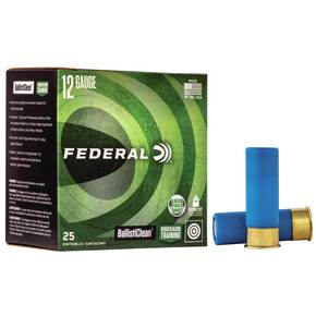 "Federal Ballisticlean Shotshell 12 ga 2-3/4"" 325 gr Slug 1500 fps  25/ct"