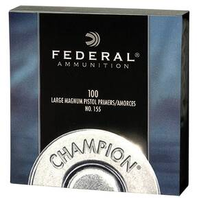 Federal Premium Champion Centerfire Primers Mag Large Pistol