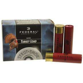 "Federal Strut-Shok Turkey Load 12 ga 3 1/2"" 4 dr 2 oz #41300 fps - 10/box"