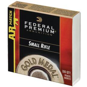 Federal Premium Gold Medal Centerfire Primers- AR Small Rifle Match
