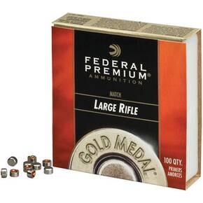 Federal Premium Gold Medal Centerfire Primers-Large Magnum Rifle Match