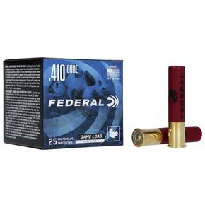 "Federal Game-Shok Upland Game - Hi Brass Load - .410ga 2-1/2"" 1/2oz. #7.5-Shot 25/Box"
