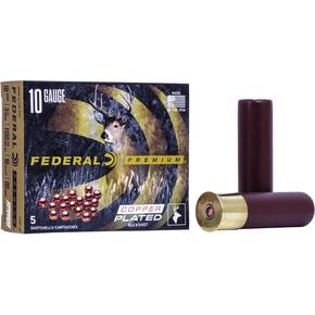 "Federal Vital-Shok Shotshells 10 ga 3-1/2"" 18 Pellet 1100 fps #00 5/ct"