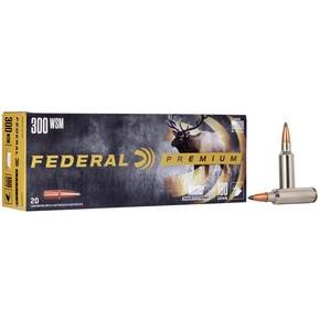 Federal Premium Vital-Shok Rifle Ammunition .300 WSM 180 gr PT 2980 fps - 20/box