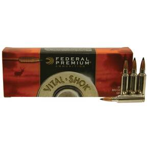 Federal Premium Vital-Shok Rifle Ammunition .300 WSM 165 gr TC 3120 fps - 20/box