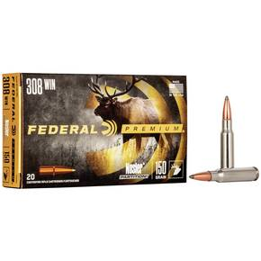 Federal Premium Vital-Shok Rifle Ammunition .308 Win 150 gr PTR 2840 fps - 20/box