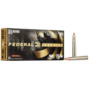 Federal Premium Cape-Shok Rifle Ammunition .375 H&H 300 gr PT 2440 fps - 20/box