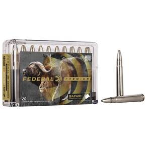 Federal Premium Cape-Shok Rifle Ammunition .416 Rem Mag 400 gr TBBC 2400 fps - 20/box
