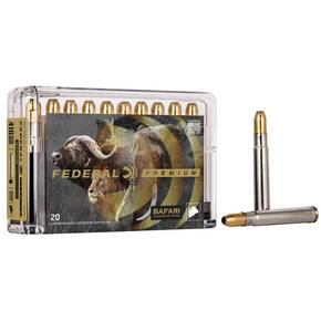 Federal Premium Cape-Shok Rifle Ammunition .416 Rem Mag 400 gr BSS 2400 fps - 20/box