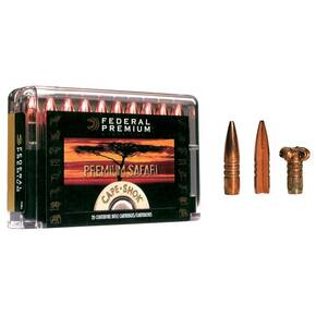 Federal Premium Cape-Shok Rifle Ammunition .458 Lott 500 gr TSX 2280 fps - 20/box