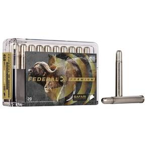 Federal Premium Cape-Shok Rifle Ammunition .458 Lott 500 gr TBBC 2300 fps - 20/box