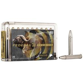 Federal Premium Cape-Shok Rifle Ammunition .458 Win Mag 400 gr TBBC 2250 fps - 20/box