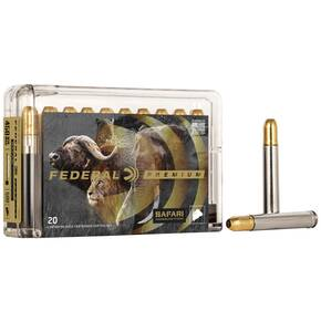 Federal Premium Cape-Shok Rifle Ammunition .458 Win Mag 500 gr TBSS 1950 fps - 20/box
