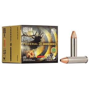 Federal Premium Vital-Shok Handgun Ammunition .460 S&W 275 gr BXP 1800 fps 20/box