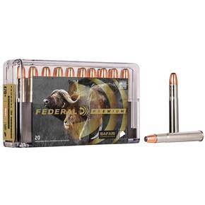 Federal Premium Cape-Shok Rifle Ammunition .470 Nitro 500 gr SAF 2150 fps - 20/box