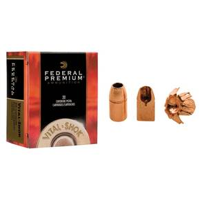 Federal Premium Vital-Shok Handgun Ammunition .500 S&W 275 gr BXP 1660 fps 20/box