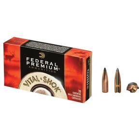 Federal Premium Vital-Shok Rifle Ammunition 7mm-08 Rem 140 gr PT 2800 fps - 20/box