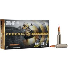 Federal Premium Vital-Shok Rifle Ammunition 7mm-08 Rem 140 gr BT 2800 fps - 20/box