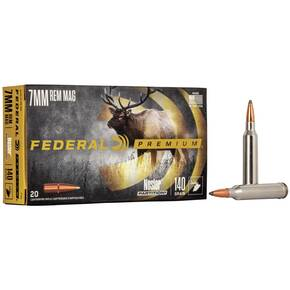 Federal Premium Vital-Shok Rifle Ammunition 7mm Rem Mag 140 gr PT 3150 fps - 20/box