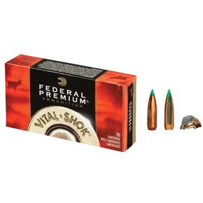 Federal Premium Vital-Shok Rifle Ammunition 7mm WSM 140 gr BT 3310 fps - 20/box