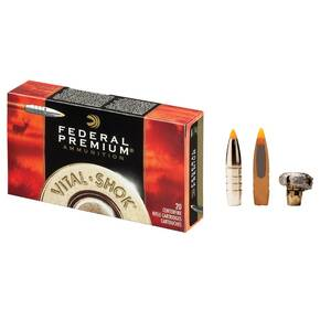 Federal Premium Vital-Shok Rifle Ammunition 7mm WSM 160 gr TBT 3000 fps - 20/box