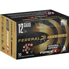 "Federal FX2 Shotshell 12 ga 2-3/4"" 9 Pellet 1145 fps #00 10/ct"