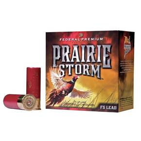 "Federal Premium Prairie Storm FS Lead with FliteControl Wad - 12ga 2-3/4"" 1-1/4oz. 5-Shot 25/Box"