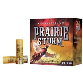 "Federal Premium Prairie Storm FS Lead with FliteControl Wad 20 ga 3""  1 1/4 oz #4 1300 fps - 25/box"