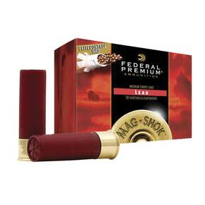 "Federal Premium Mag-Shok Turkey 12 ga 3"" MAX 2 oz #4  - 10/box"