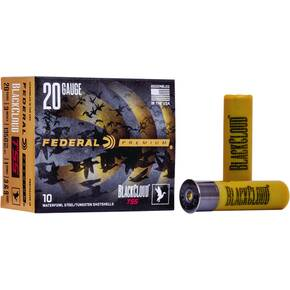 "Federal Black Cloud TSS Shotshell 20ga 3"" 1oz #3 FS &# 9 TSS 10/ct"