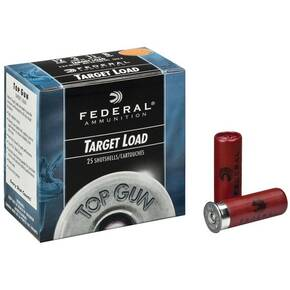 "Federal Top Gun Target 12 ga 2 3/4"" 1 1/8 oz #8 - 25/ct"