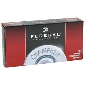 Federal Champion Handgun Ammunition 9mm Luger 115 gr FMJ  50/Box